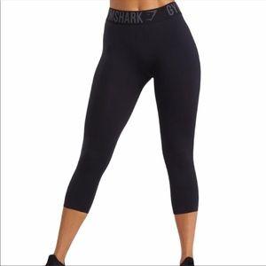 Gymshark Black Fit Cropped Leggings
